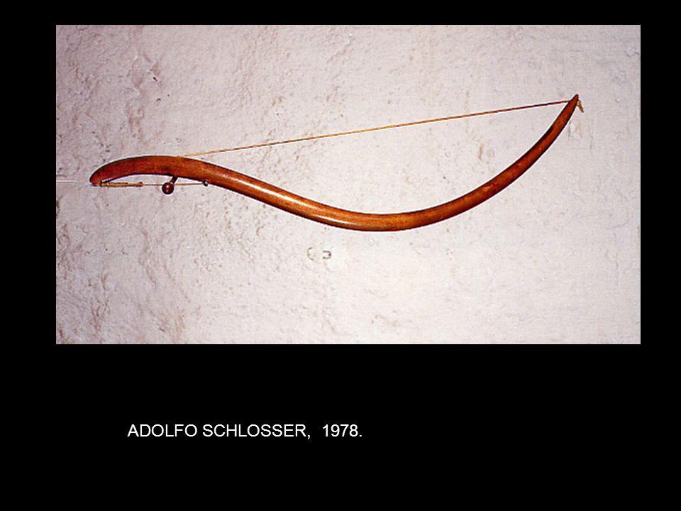 ADOLFO SCHLOSSER, 1978.