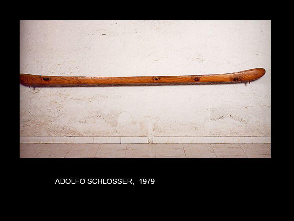 LFO SCHLOSSER, 1979. ADOLFO SCHLOSSER, 1979