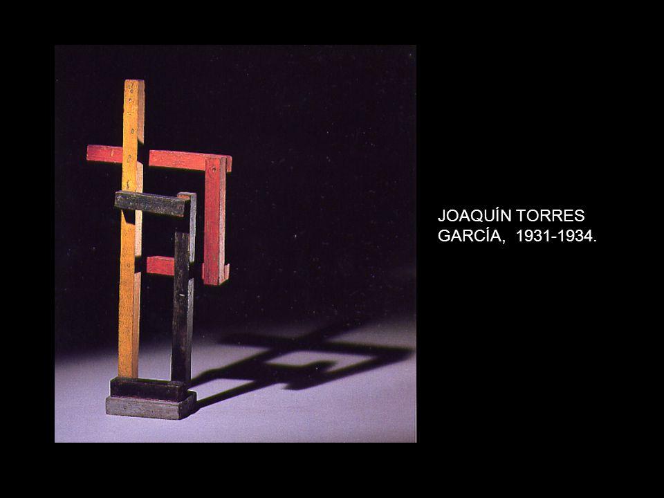 JOAQUÍN TORRES GARCÍA, 1931-1934.