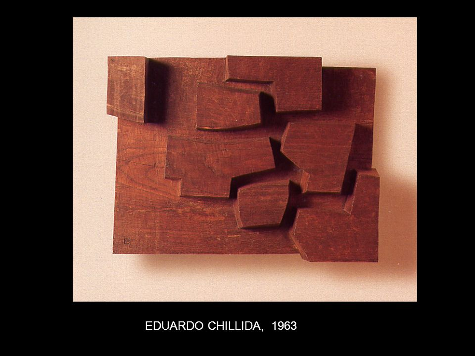 EDUARDO CHILLIDA, 1963