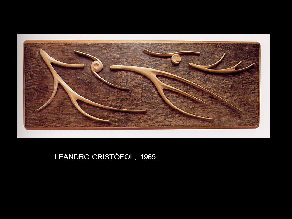 LEANDRO CRISTÓFOL, 1965.