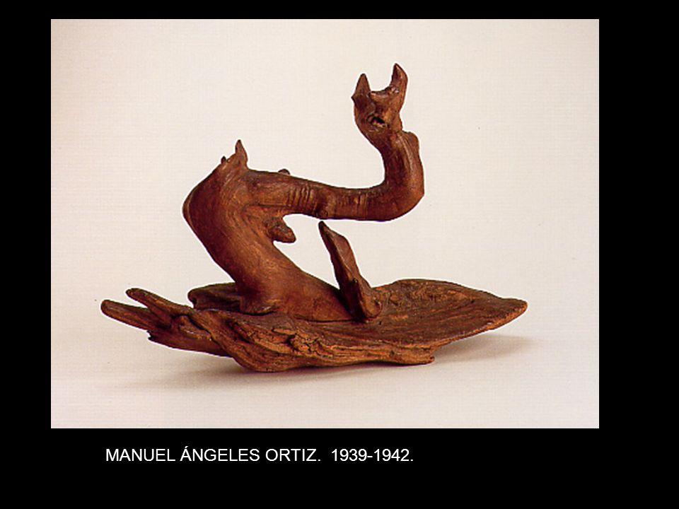 MANUEL ÁNGELES ORTIZ. 1939-1942.