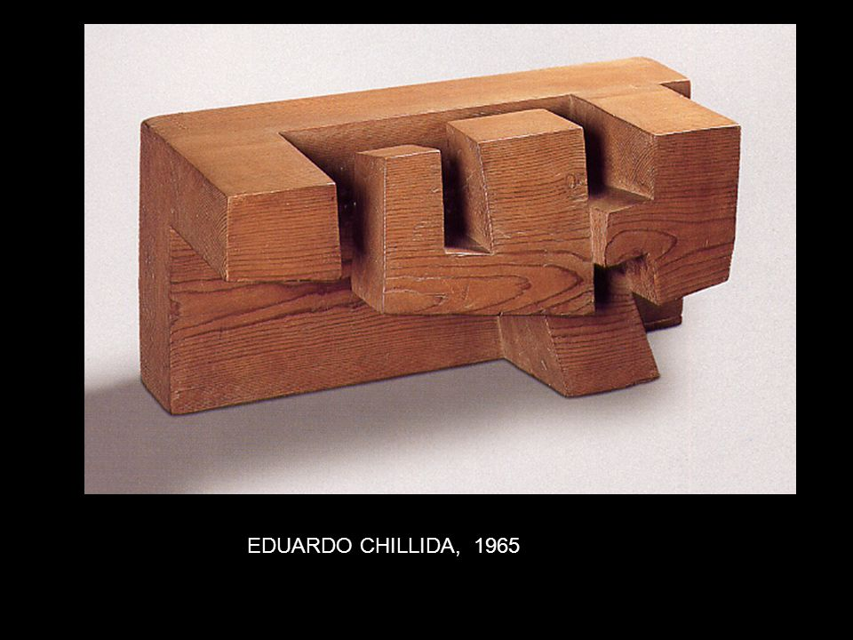 EDUARDO CHILLIDA, 1965