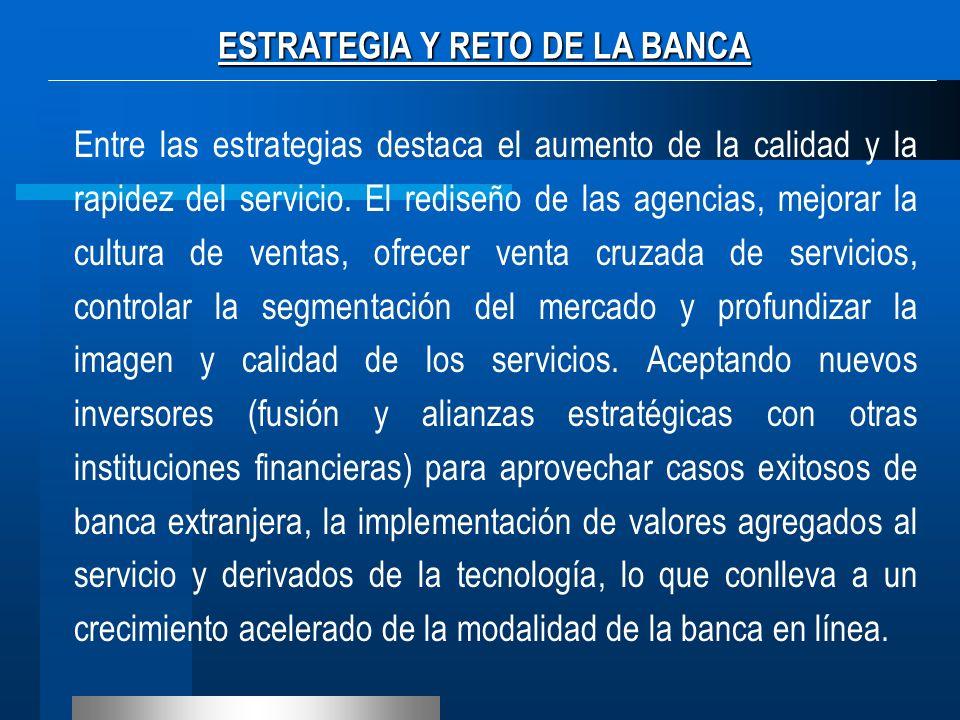 CARACTERÍSTICAS DE LA BANCA UNIVERSAL - Ampliar su oferta de instrumentos financieros para la captación de recursos.