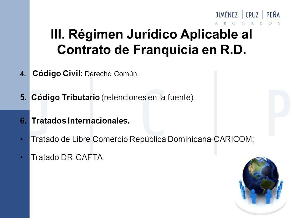 4.Código Civil: Derecho Común. 5. Código Tributario (retenciones en la fuente).