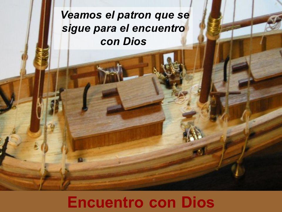 Encuentro con Dios Encontrarse con Dios se sigue el siguiente patron: Oir la voz de Dios que dice ven.