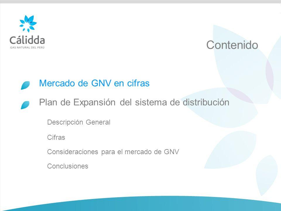 3 A 5 años de la llegada del gas natural a Lima Mercado de GNV 27 distritos ya disfrutan de los beneficios del gas natural 877 empresas han reducido sus costos gracias al gas natural 83 estaciones ubicadas en 21 distritos de Lima ya venden GNV 73,839 conductores que ya ahorran utilizando gas natural