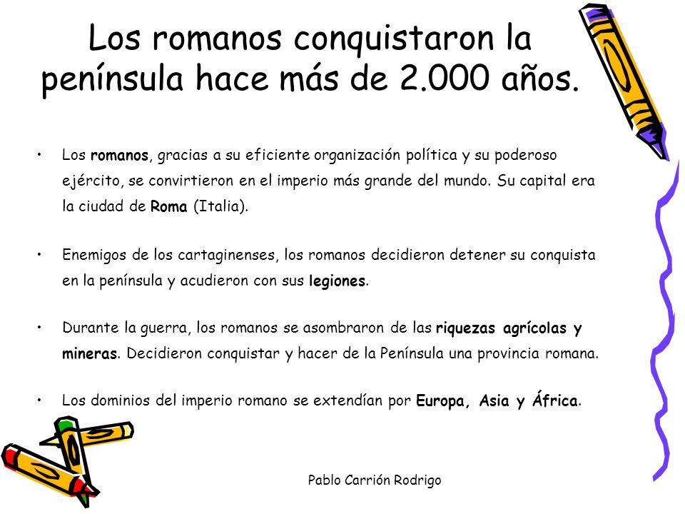 Pablo Carrión Rodrigo EXPANSIÓN ROMANA POR EUROPA