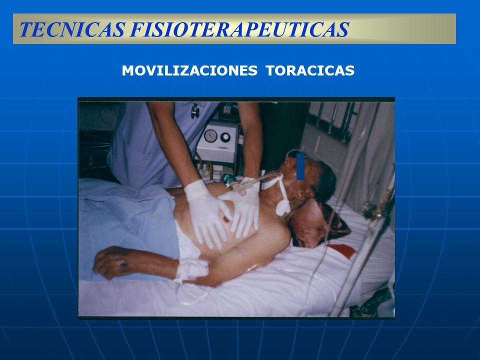 MOVILIZACIONES TORACICAS TECNICAS FISIOTERAPEUTICAS
