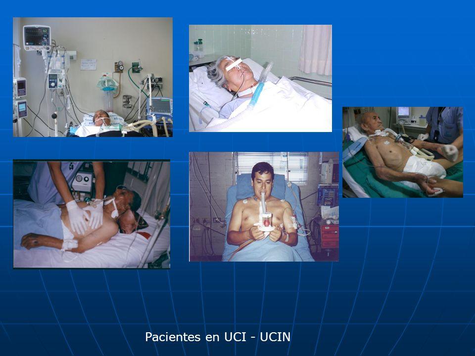 Pacientes en UCI - UCIN