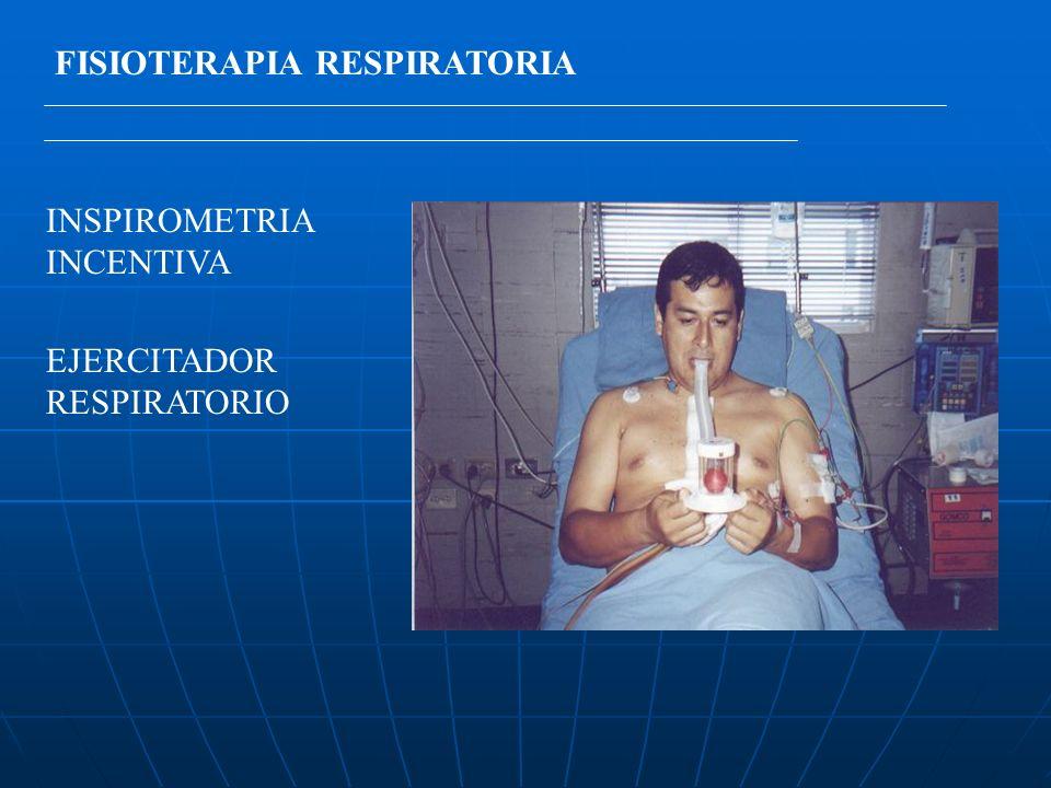 FISIOTERAPIA RESPIRATORIA INSPIROMETRIA INCENTIVA EJERCITADOR RESPIRATORIO