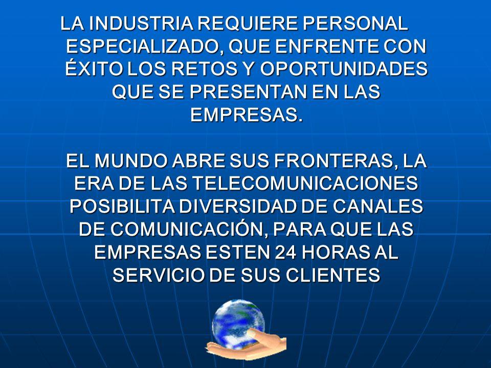 PROFESIONALIZACION EN EL CALL CENTER PROFESIONALIZACION EN CONTACT Y CALL CENTER