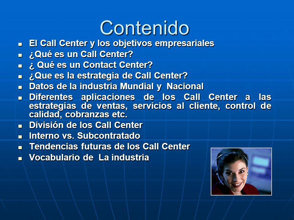 –Proporcionar la información para lograr el desarrollo de las habilidades necesarias de un profesional de Call Center exitoso. –Generar conciencia par