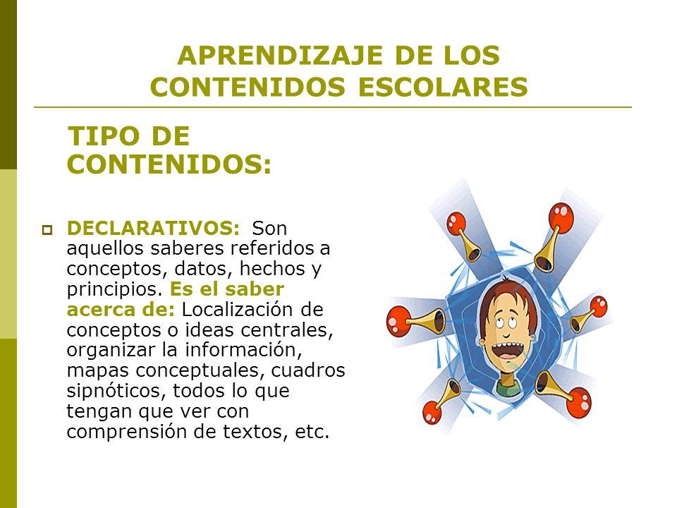 Ejemplo declarativo (conceptual) 1.Conceptos y normas de tránsito 2.