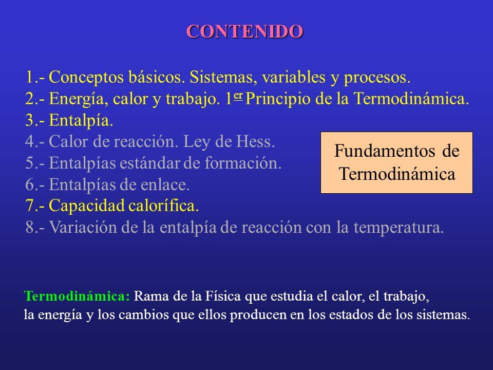 CONTENIDO 1.- Conceptos básicos.Sistemas, variables y procesos.