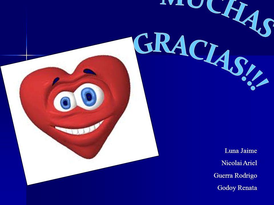 Luna Jaime Nicolai Ariel Guerra Rodrigo Godoy Renata