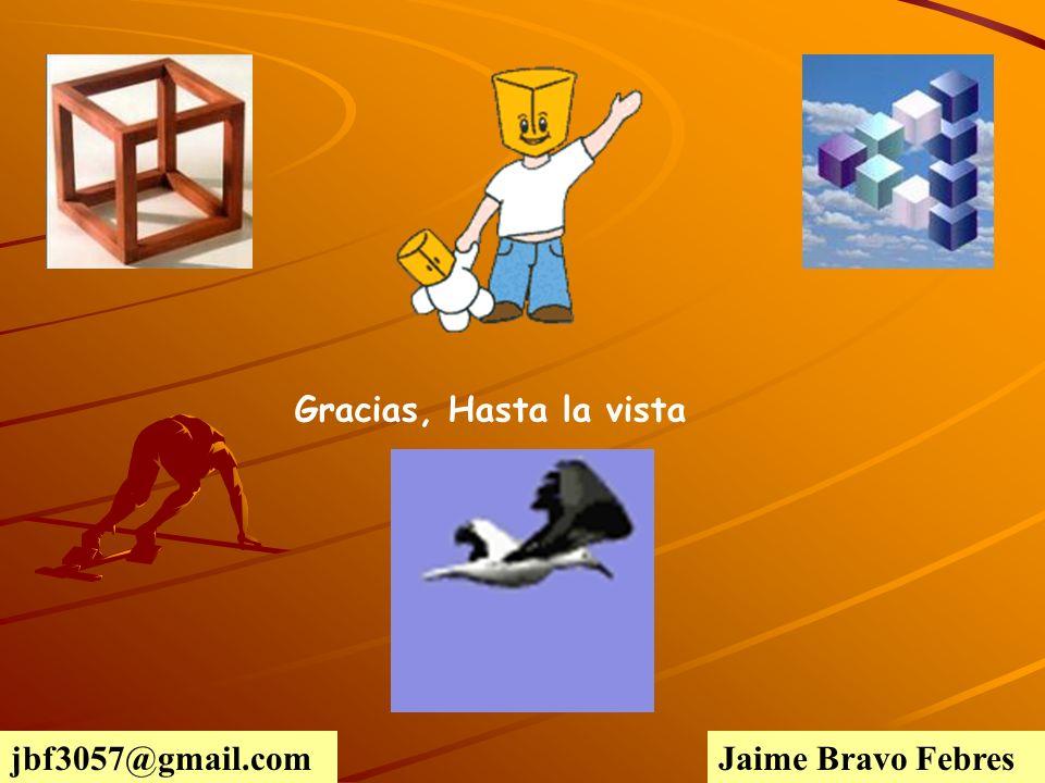 Gracias, Hasta la vista Jaime Bravo Febresjbf3057@gmail.com