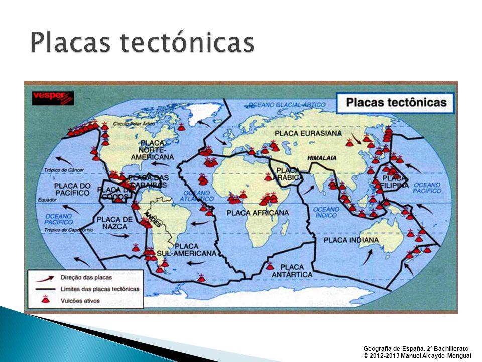 Geografía de España. 2º Bachillerato © 2012-2013 Manuel Alcayde Mengual