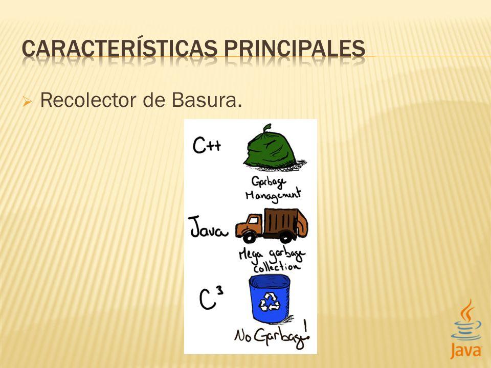 Recolector de Basura.