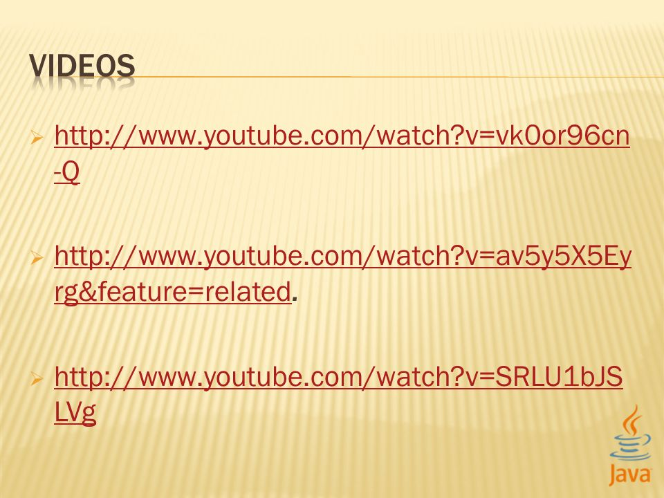 http://www.youtube.com/watch?v=vk0or96cn -Q http://www.youtube.com/watch?v=vk0or96cn -Q http://www.youtube.com/watch?v=av5y5X5Ey rg&feature=related.