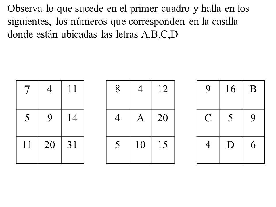 ¿Cuántos triángulos de los pequeños caben en el triángulo grande? A B C2A 2B 2C A.2 B.3 C.4 D.5