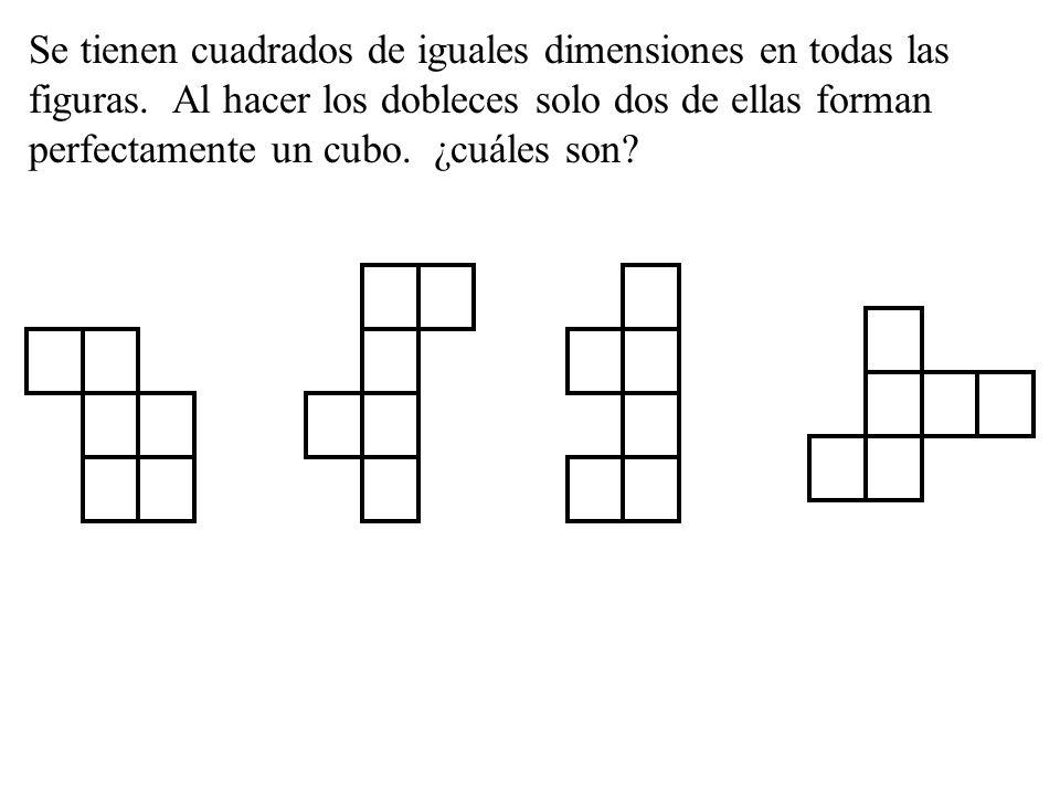 Observa lo que sucede en el primer cuadro y halla en los siguientes, los números que corresponden en la casilla donde están ubicadas las letras A,B,C,