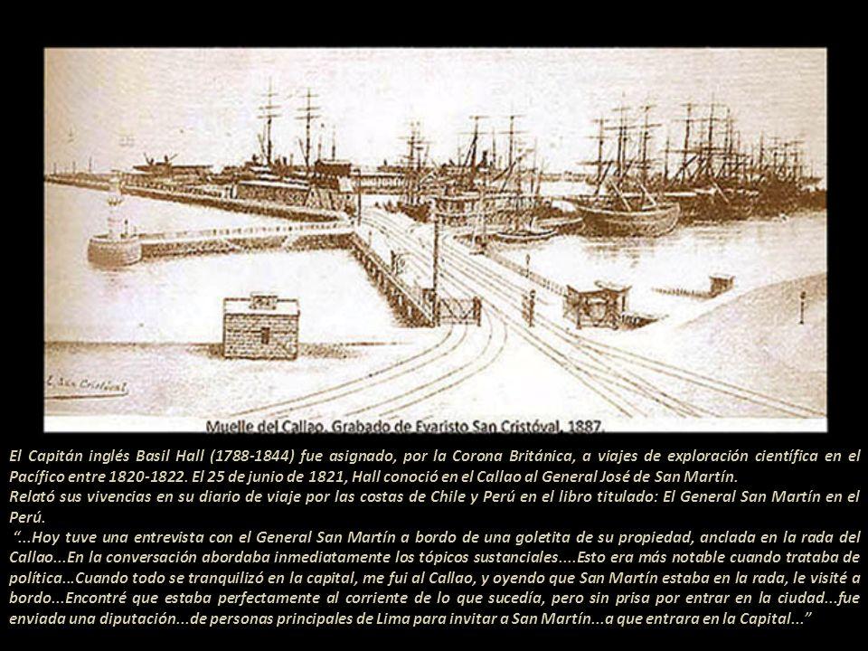 Después de libertar varias ciudades del territorio peruano, en la sierra y en la costa, Don José de San Martín se reunió en los extramuros de la ciuda