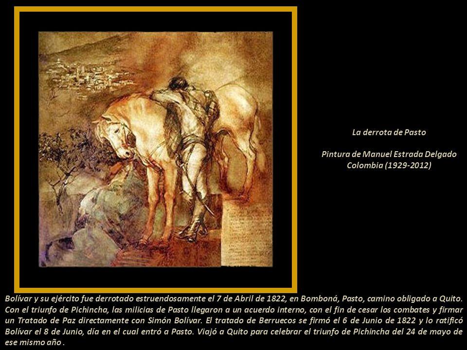 La Batalla de Pichincha El 24 de mayo de 1822, el General Antonio José de Sucre dirigió la batalla de Pichincha, lo acompañaban venezolanos, peruanos,