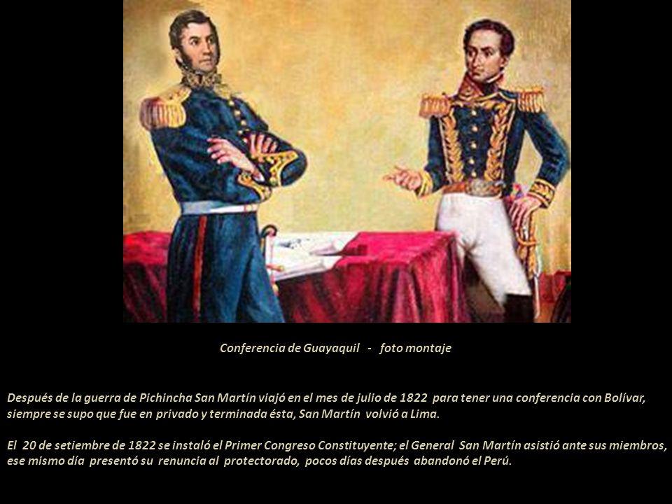 18 de Junio 1822.. Bolívar expidió, en esta fecha, en su Cuartel General de Quito, el siguiente decreto para la División del General Santa Cruz:.. Art
