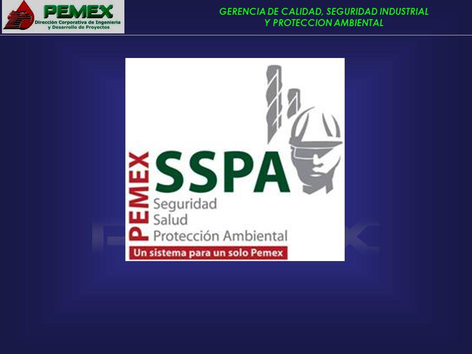 GERENCIA DE CALIDAD, SEGURIDAD INDUSTRIAL Y PROTECCION AMBIENTAL