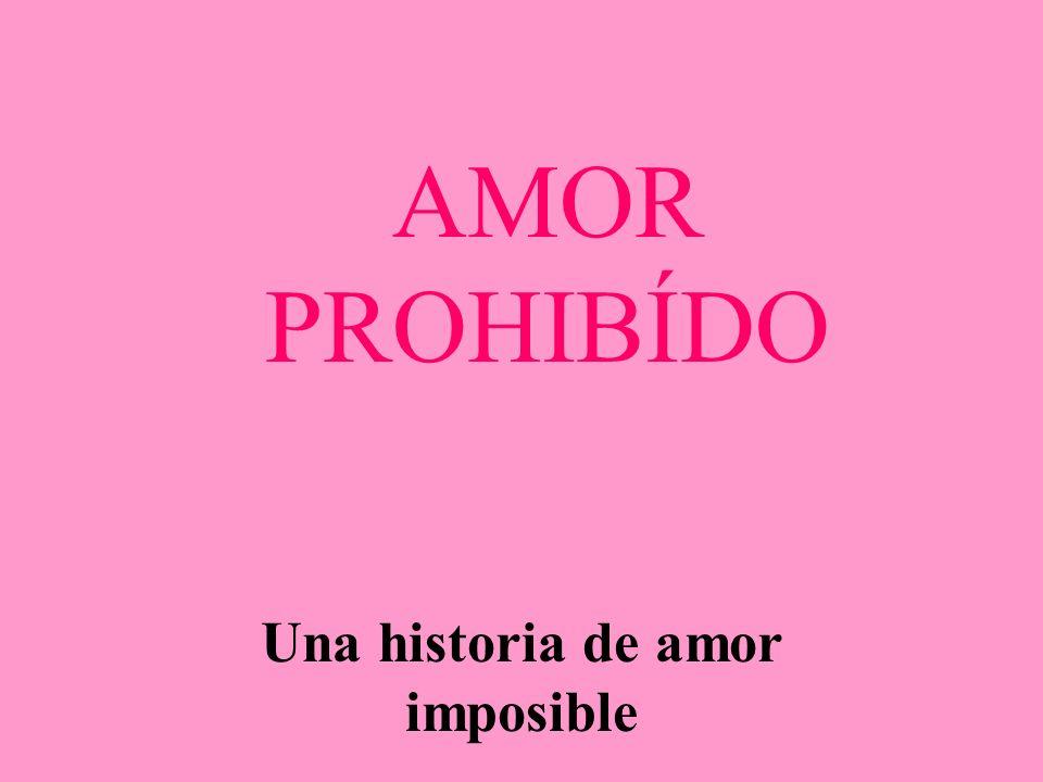 AMOR PROHIBÍDO Una historia de amor imposible