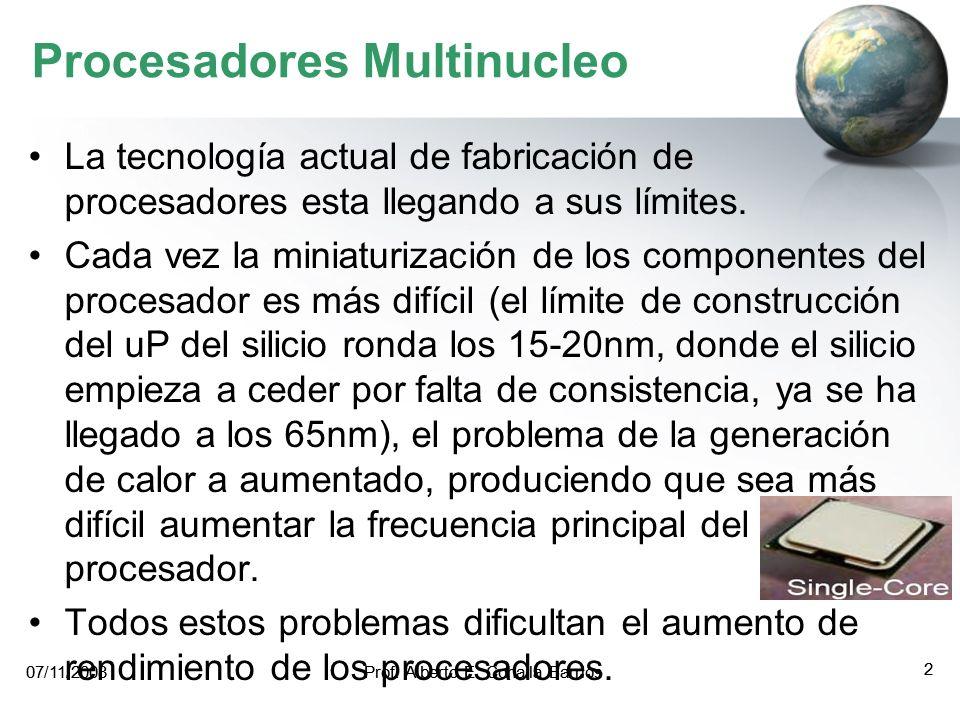 Tema 08: Arquitectura y programación de los multiprocesadores MAESTRÍA EN INGENIERIA DE SISTEMAS E INFORMÁTICA ADMINISTRACIÓN DE TECNOLOGÍAS DE INFORM