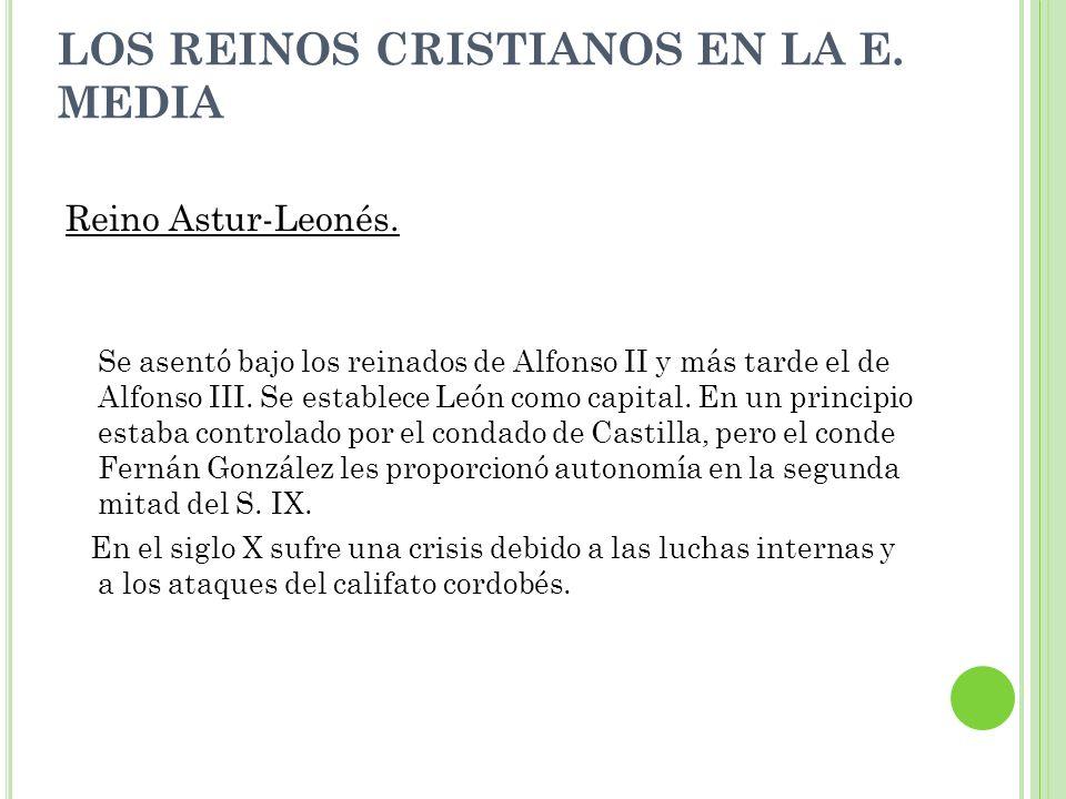 Reino Astur-Leonés. Se asentó bajo los reinados de Alfonso II y más tarde el de Alfonso III. Se establece León como capital. En un principio estaba co