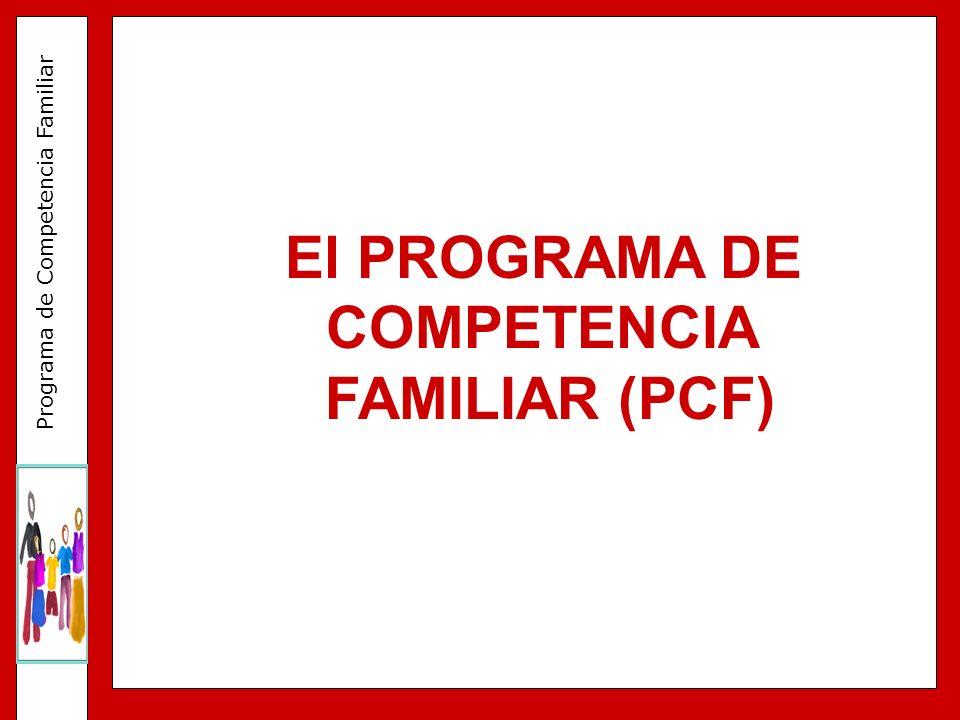 Programa de Competencia Familiar FACTORES CLAVE DEL PROCESO DE IMPLEMENTACIÓN 3.