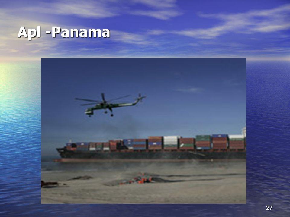 27 Apl -Panama