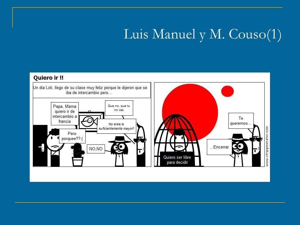 Luis Manuel y M. Couso(1)