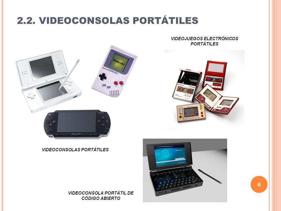 2.2. VIDEOCONSOLAS PORTÁTILES VIDEOJUEGOS ELECTRÓNICOS PORTÁTILES VIDEOCONSOLAS PORTÁTILES VIDEOCONSOLA PORTÁTIL DE CÓDIGO ABIERTO 6