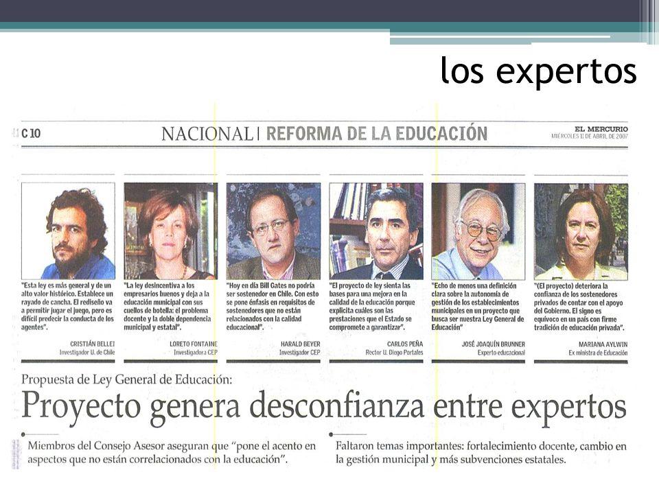 los expertos