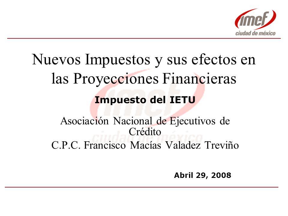 6.- Obligaciones Fiscales 2008 (4/4) Declaración Anual –Se presentará dentro de los tres meses posteriores al cierre del ejercicio –Primera declaración anual 31 marzo 2009