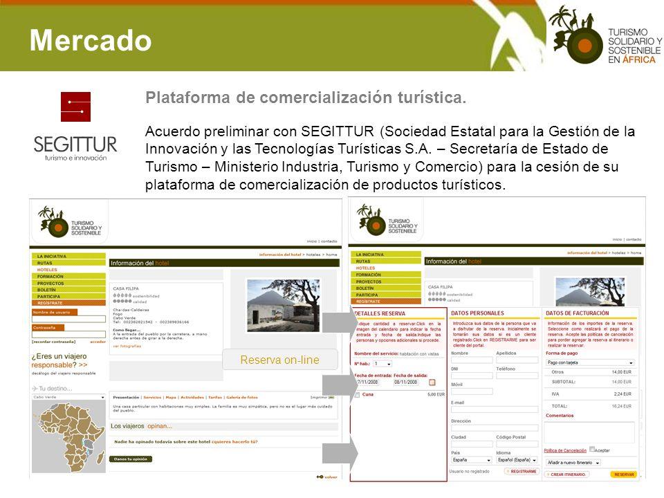 Mercado Acuerdo preliminar con SEGITTUR (Sociedad Estatal para la Gestión de la Innovación y las Tecnologías Turísticas S.A. – Secretaría de Estado de