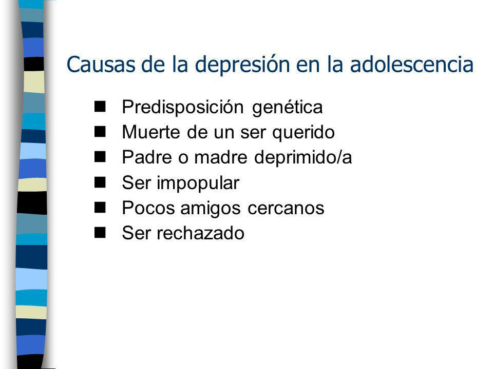 La Depresión y el Suicidio: Dos asuntos críticos en la adolescencia Algunos investigadores sugieren que aprox. 20-35% hombres y de 25-40% mujeres repo