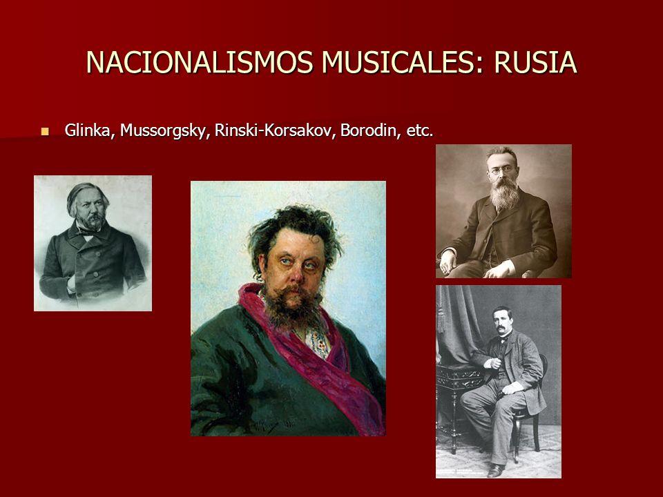 TARDOROMANTICISMO La sensibilidad romántica prosigue en autores muy variados: Brahms y Tchaikovsky (academicistas), Bruckner y Mahler (sinfonistas de