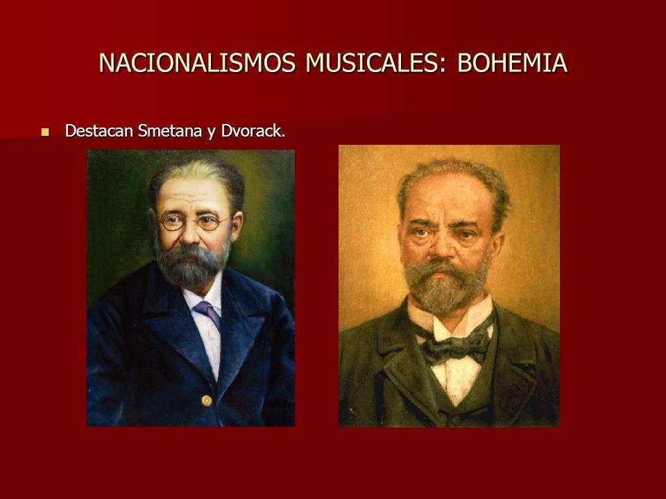 NACIONALISMOS MUSICALES: RUSIA Glinka, Mussorgsky, Rinski-Korsakov, Borodin, etc. Glinka, Mussorgsky, Rinski-Korsakov, Borodin, etc.