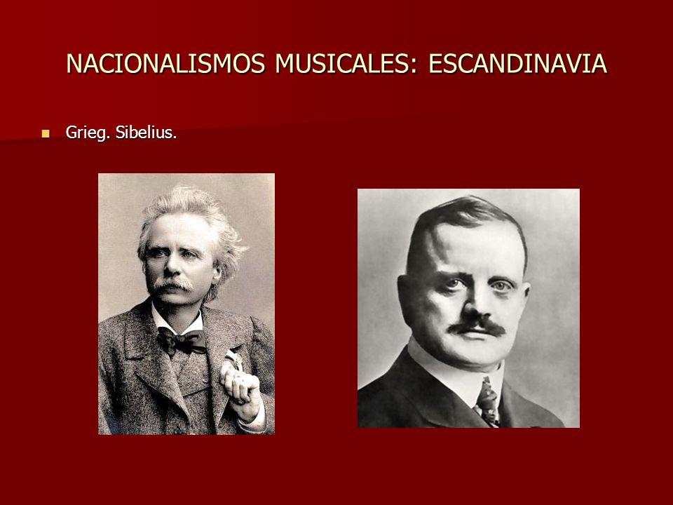NACIONALISMOS MUSICALES: BOHEMIA Destacan Smetana y Dvorack. Destacan Smetana y Dvorack.