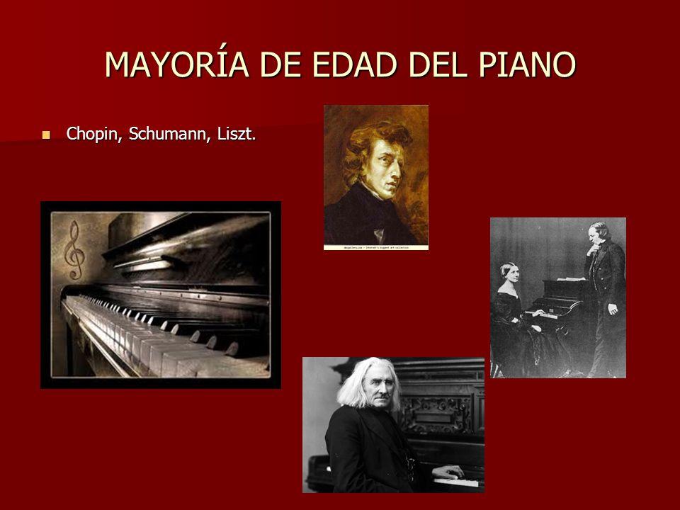 VANGUARDIAS Tomando el relevo a la música de Mahler, nacerán el atonalismo y el dodecafonismo, que se desarrollarán en el siglo XX.
