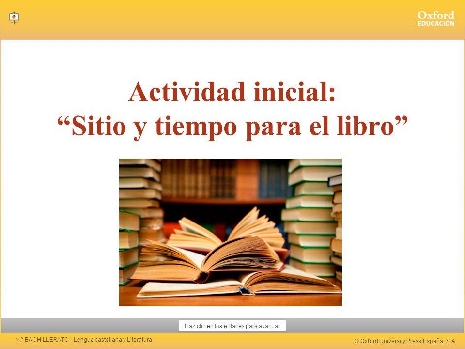 © Oxford University Press España, S.A.