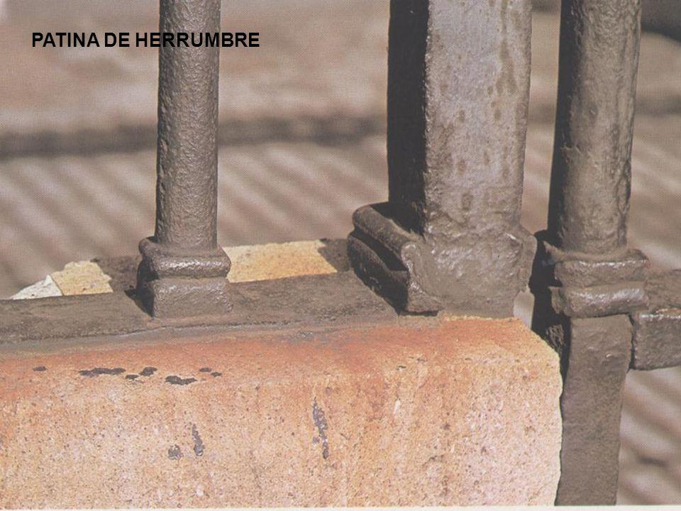PATINA DE HERRUMBRE