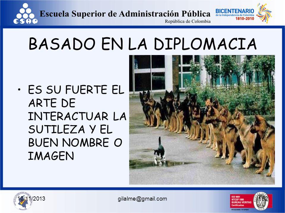 10/11/2013gilalme@gmail.com151 ESTILOS DE INFLUENCA POSITIVO DEMOCRATIVO PARTICIPATIVO ESCUCHA EQUIDAD JUSTICIA LOGRO GRUPAL NEGATIVO PSEUDO- DEMOCRAT