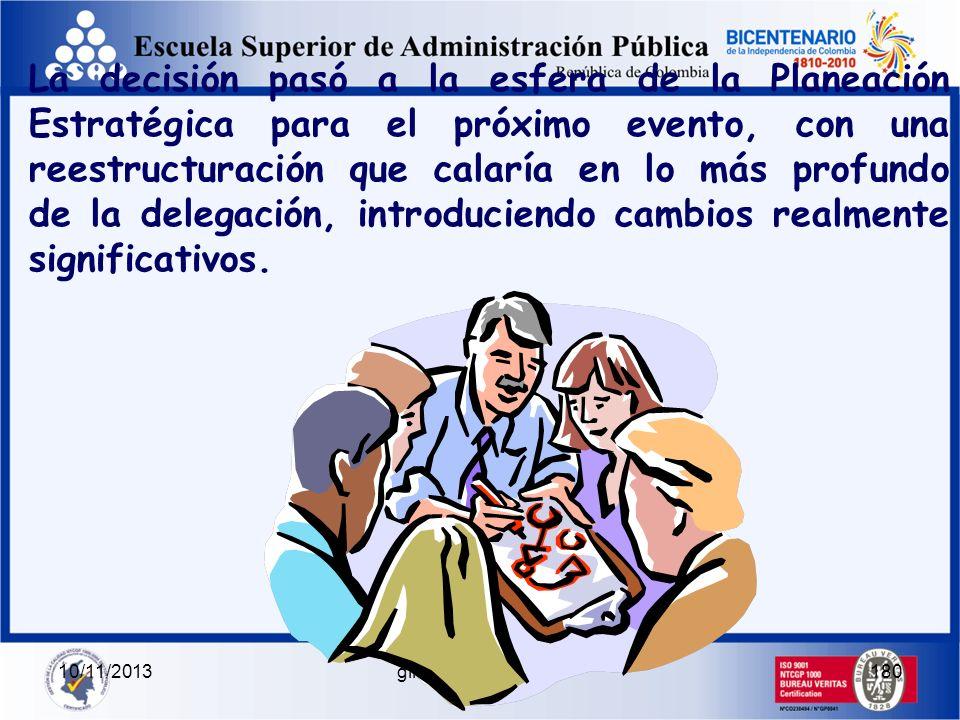 10/11/2013gilalme@gmail.com179 En el Equipo Japonés había: En el Equipo Colombiano había: 1 Jefe de Equipo 10 Remeros 10 Jefes de Equipo 1 Remero