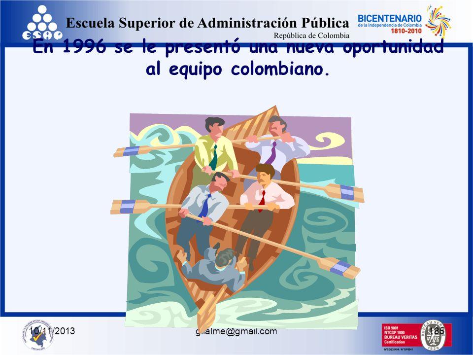 10/11/2013gilalme@gmail.com184 La conclusión del Comité fue unánime y lapidaria: El remero es un incompetente.